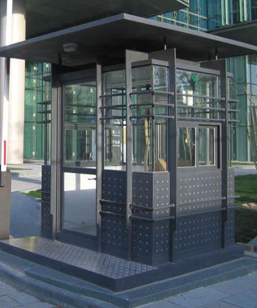 钢结构停车场岗亭