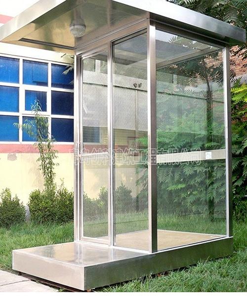 门玻璃岗亭
