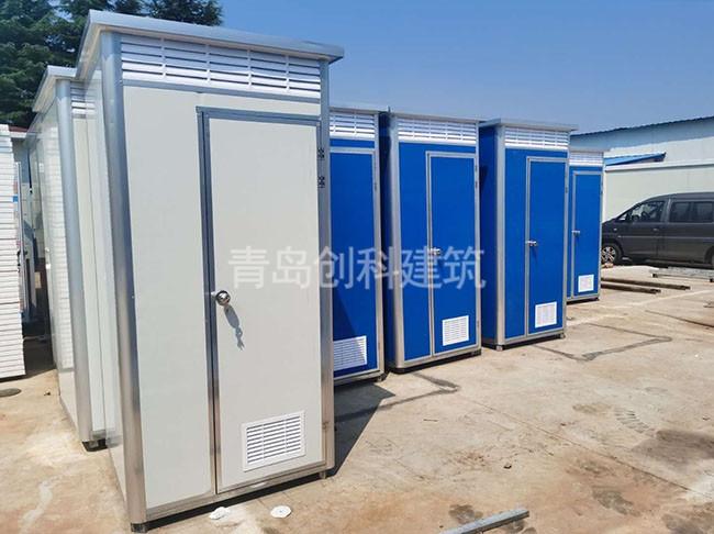 新加坡出口厕所制作安装完工投入使用中